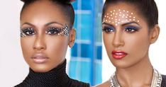 It's been a while since I posted some carnival makeup inspiration but I recently eyed ...     The KING of Caribbean makeup artistry, Kirk...
