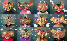 5 masques de carnaval diy