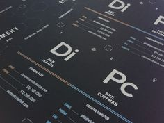 Element Business Cards  by Phil Coffman