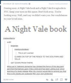 PART 96 (guys you should totally check out night vale) - Album on Imgur