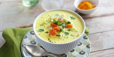 Zeleninová polievka s nádychom orientu