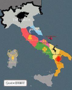 Italy of Thrones!