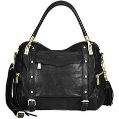 REBECCA MINKOFF 'CUPID' SATCHEL..I have been seeing more people carrying this industrial-looking purse around. I am a huge fan of simple and timeless purses, but I am starting to love this one! I own the mini MAC purse in multiple colors, and I love them so much! This purse has a tough look that will spice up my usual girly outfits!