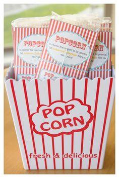 Personal Progress Popcorn