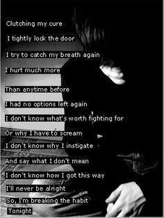 Linkin Park lyrics - breaking the habit