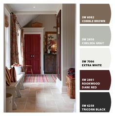 I like this paint pallet... Definitely a strong runner for our dream home