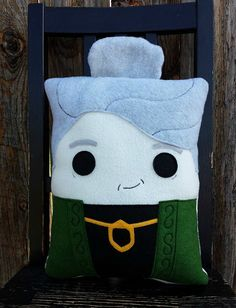 Professor McGonagall harry potter  pillow plush by telahmarie, $30.00