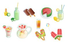 Vector packs and clip art, Vectors illustration, fonts and high resolution Stock Images. Chose from more than 5000 stock graphic files. Summer Snacks, Summer Cocktails, Orange, Lemonade, Vector Art, Watermelon, How To Draw Hands, Clip Art, Summer Finger Foods