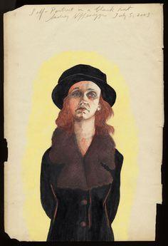 self portrait - audrey niffenegger
