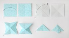 DIY de Noël : Etoiles en papier japonais