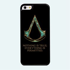Green Assassins Creed Symbol Phone Case for iPhone //Price: $12.00 & FREE Shipping //     #GeekVerse