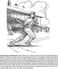 sports pages babe ruth - Coloring Page Jackie Robinson
