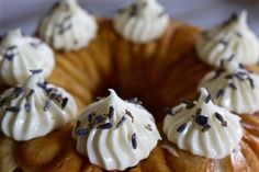 All That's Left Are The Crumbs: Lavender Lemonade Bundt Cake ~ #BundtBakers