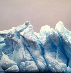 detail of the piece in progress. Learning so much about snow!