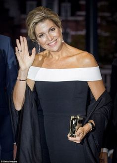 14 September 14 2017 - Queen Maxima attensd the opening of the new season of Royal Concertgebouw Orchestra (RCO) at Concert Hall in Amsterdam - jumpsuit by Roland Mouret