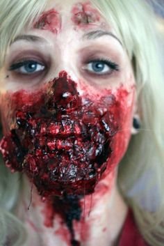 30 freaking awesome Halloween makeup effects...Not all my style but all SO WELL DONE