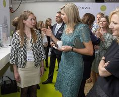 May 23, 2016, Dutch Queen Maxima attended the opening of the 5th Innovation Summit on female entrepreneurship organized by entrepreneurs platform TheNextWomen and magazine OPZIJ in Amsterdam