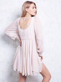 Maritza Veer || FP Collection Tatiana Swing Dress (Champagne)
