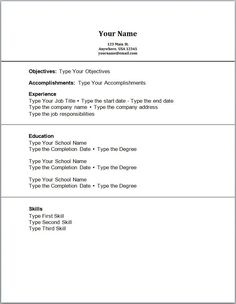 sample resume accounting no work experience httpjobresumesamplecom213 - Resume With No Work Experience Example