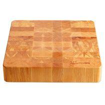 24Kitchen houten hakblok - 40 x 40 cm