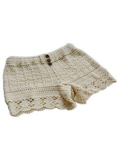 bonita crochet shorts