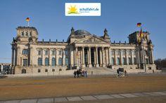 Das Reichtagsgebäude - wir organisieren gern eine Besichtigung! www.schulfahrt.de #Bundestag #Berlin #Deutschland