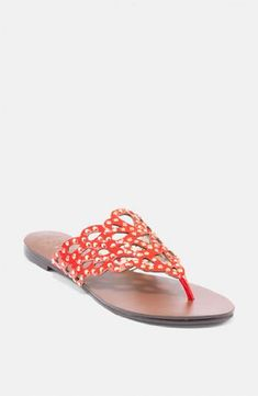 7c3f62aa25eef Vince Camuto Womens ElianRavishing Red Studded LeatherUS 65 M   Be sure to  check out this awesome product. Women s Sandals