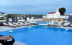 Myconian Kyma Design Hotel, Mykonos, Greece © Christoph Bugram / Restplatzbörse Design Hotel, Mykonos Greece, Partys, Strand, Hotels, Outdoor Decor, Home Decor, Travel Advice, Luxury