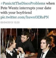 Panic! At the Disco & Pete Wentz
