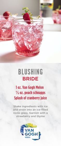 planning your wedding or hosting a bridal shower add this wedding themed cocktail to your signature drink menu for an instant crowd pleaser