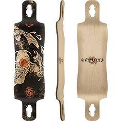 Amazon.com : Gravity Karma Longboard Deck With Grip Tape New On Sale : Sports & Outdoors