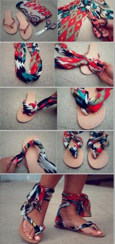 DIY : Pimp your Slippers