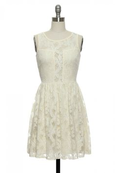 Like a Fine Wine Dress in White | Vintage, Retro, Indie Style Dresses