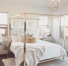 65 romatic and elegant bedroom decor ideas 35 Dream Rooms, Dream Bedroom, Home Decor Bedroom, Bedroom Ideas, Bedroom Curtains, Bedroom Inspiration, Design Inspiration, Design Ideas, Home Interior