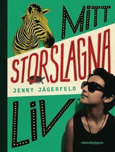 Mitt storslagna liv – Jenny Jägerfeld – Bok   Akademibokhandeln Rabe, Audiobooks, Indie, Folk, Ebooks, Comic Books, Comics, Reading, Movie Posters