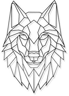 Art Blac cut geometric l. Laser Cut Metal Geometric Wolf Stare Wall Art Blac… Art Blac cut geometric laser leiter Metal S Geometric Wolf Tattoo, Geometric Drawing, Geometric Art, Geometric Animal, Metal Cortado A Laser, Drawing Sketches, Art Drawings, Art Noir, Laser Cut Metal