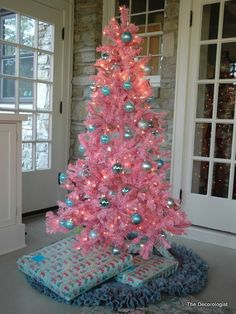 50+ PINK Christmas Trees! | Heavens to Betsy