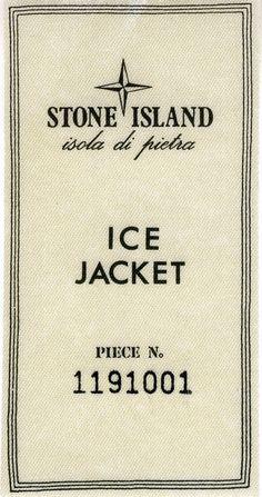Ice Jacket label