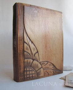 Photo album with covers from old wardrobe https://www.etsy.com/listing/226798452/photo-album-wooden-covers-photo-book?ref=shop_home_active_2