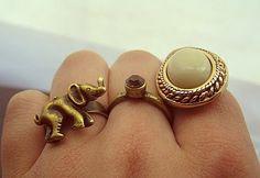 tehe              Love the Elephant ring!