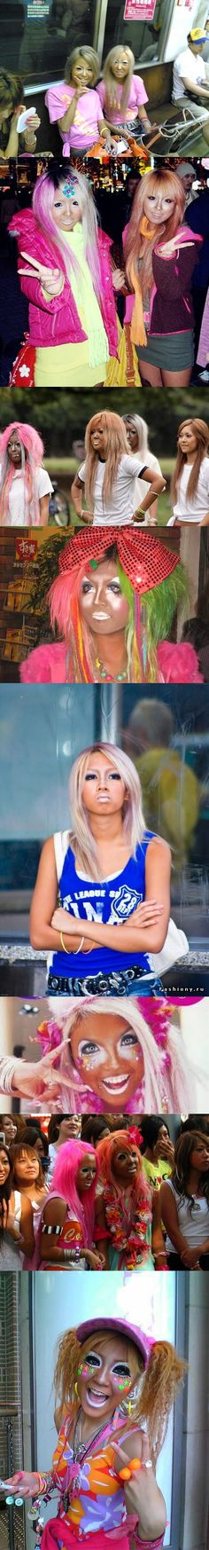 Ganguro Fashion