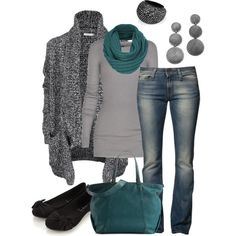 Teal Style, created by smores1165 on Polyvore