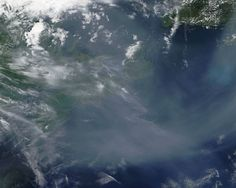 Western Wildfire Smoke Has Drifted Over the Atlantic | NASA