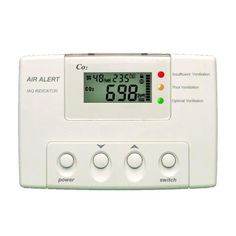 F2000IAQ-CO 2 detector/Indicator is used to monitor and alarm CO2 level and room temperature.