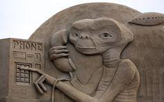 Increíbles esculturas de arena en el Reino Unido