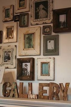 Great way to display photographs