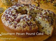 Southern Pecan Pound Cake Recipe
