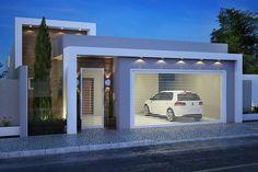 ✔ 48 best of minimalist houses design 3 Best Modern House Design, Minimalist House Design, Minimalist Home, Townhouse Designs, Modern House Facades, Bungalow House Design, Dream House Exterior, Facade House, House Front