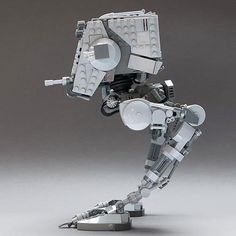 LEGO Set MOC-4931 Articulated Star Wars AT-ST v2.1 - building instructions and parts list. Theme: Star Wars; Year: 2016; Parts: 719; Tags: moc star wars