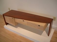 Student project coffee table from The Center for Furniture Craftmanship